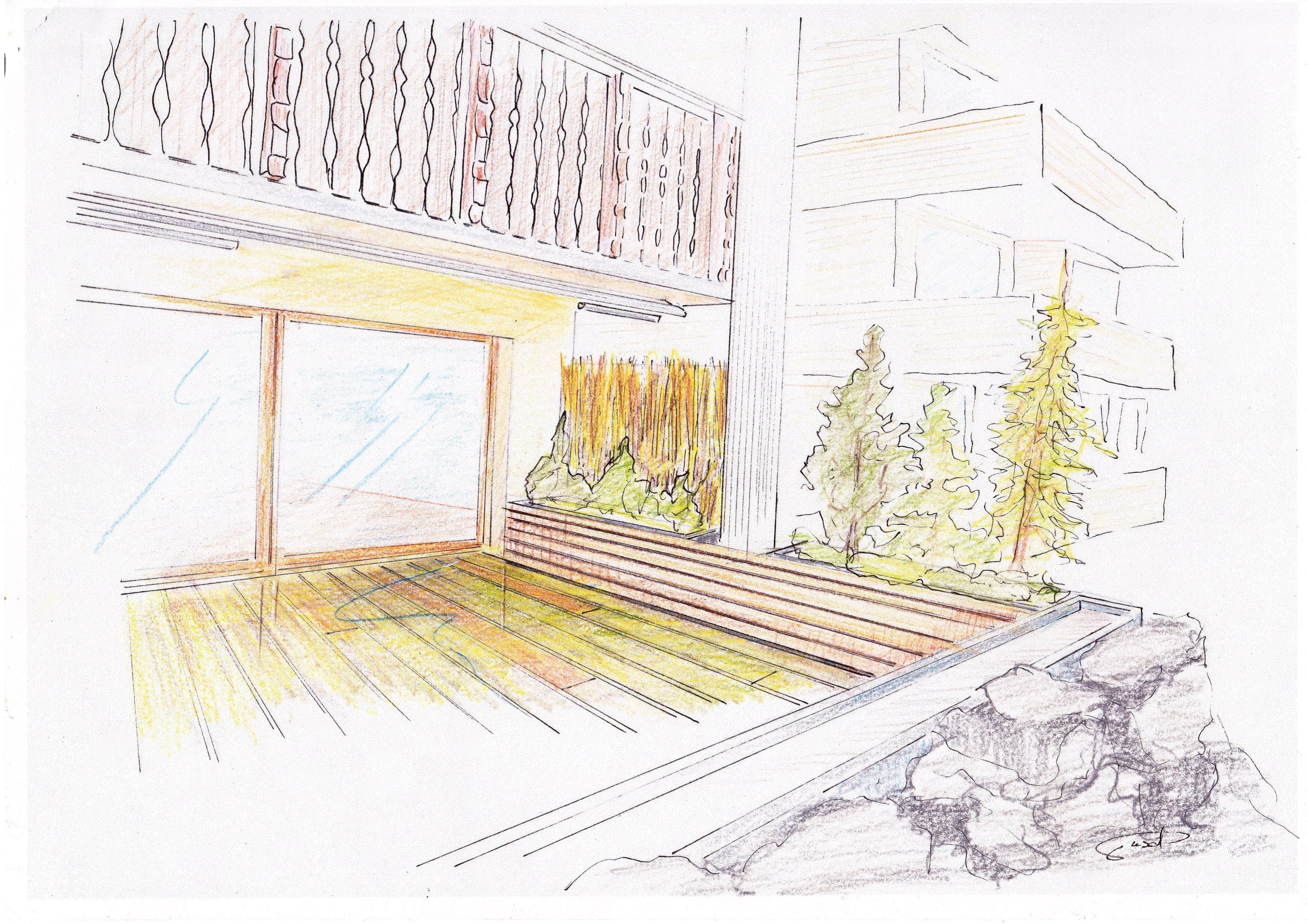 terrassenbepflanzung ideen beete gestaltung – sweetmenu, Gartengerate ideen