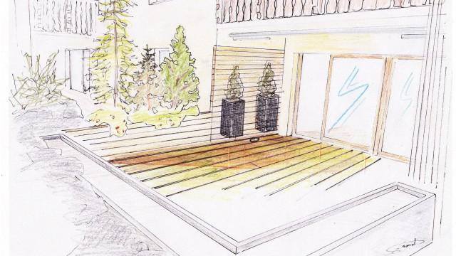 Terrassen-Gestaltung