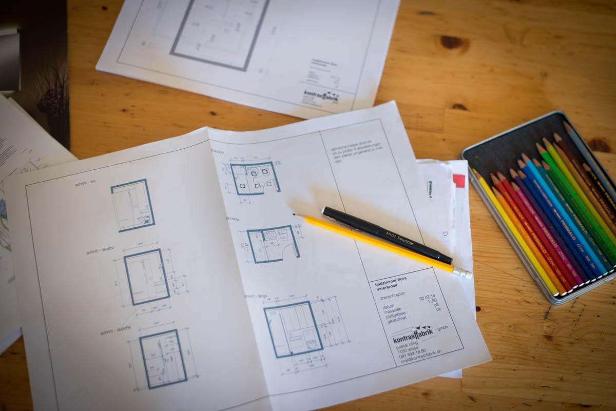 Pläne erstellen Innenarchitektur