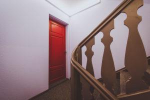 Treppenhaus Umgestaltung, Farbkonzept Ausführung Innenarchitektur