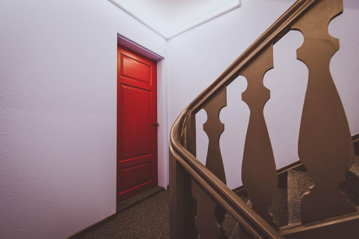 Treppenhaus nach Renovation durch kontrastabrik