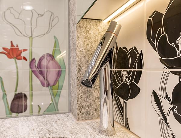 Modernes Design nach komplettumbau badezimmer