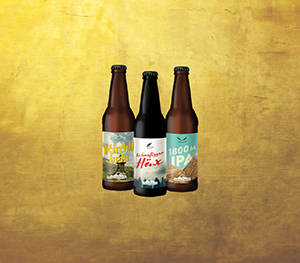 Verschiedene Biere Arosabraeu