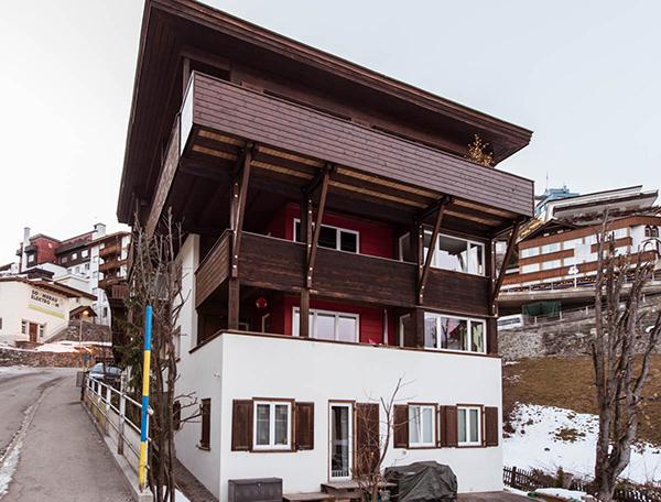 Neubau Balkon Haus Brosi