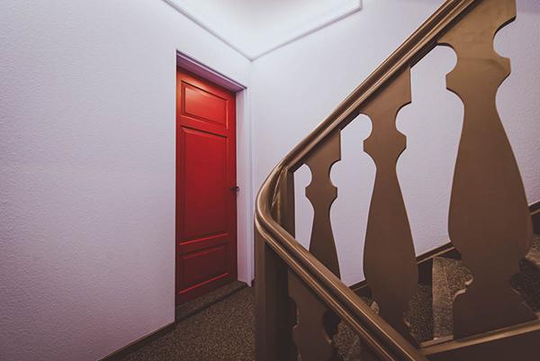 Neue Treppenhausgestaltung
