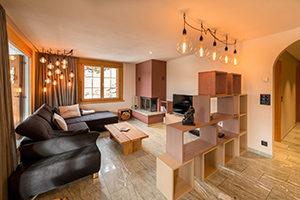 Renovation Ferienwohnung Arosa Innenarchitektur